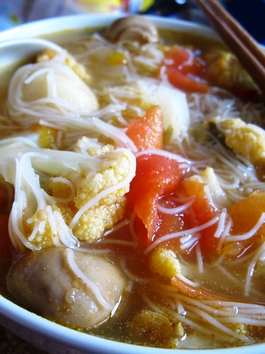Tom Yam Soup with Vermicili
