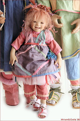 Happy girls (MiriamBJDolls) Tags: 2005 doll vinyl limitededition happygirls tinke annettehimstedt himstedtkinder summerkinder