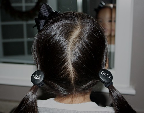 personalized pigtails
