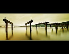 Peerspective (Christopher J. Morley) Tags: longexposure canada water vancouver burnaby cinematic drizzle fallingapart oldpier overcastday 60seconds superaplus aplusphoto 100commentgroup barnetinlet artofimages bestcapturesaoi elitegalleryaoi