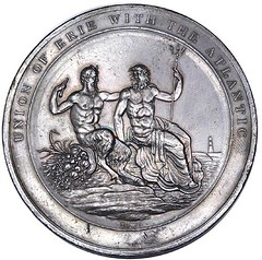 1825 Erie Canal Completion Medal
