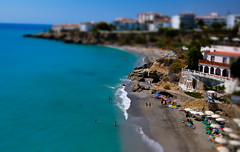 Tilt-Shift-Beach