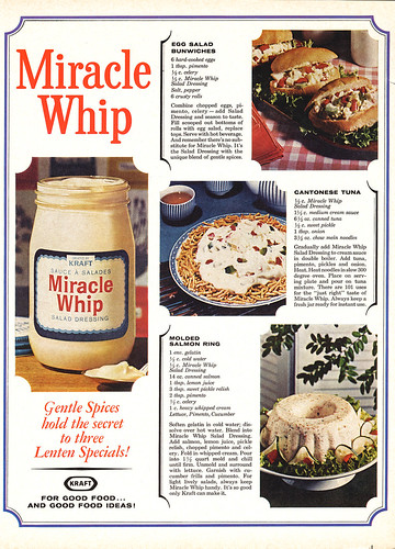 Miracle Whip Lenten Recipes