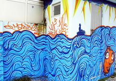 (Valdi-Valdi) Tags: ocean street blue sea urban orange streetart eye art face wall painting graffiti fisherman mural paint artist arte character florianópolis cartoon wave spray urbanart graff aerosol bomb bombing legal spraypainting spraycan grafite coqueiros