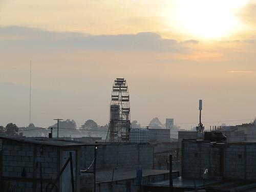Sunrise in Ville Nueva Guatemala