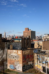 my kinda skyline (Luna Park) Tags: nyc ny newyork pez skyline brooklyn graffiti williamsburg lunapark tilt res sufer kez rek eggyolk muk123 posterchild fuck911