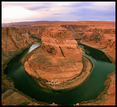 Horseshoe Bend (rx_kamakshi) Tags: travel arizona nature canyon erosion page horseshoebend 40d canoneos40d