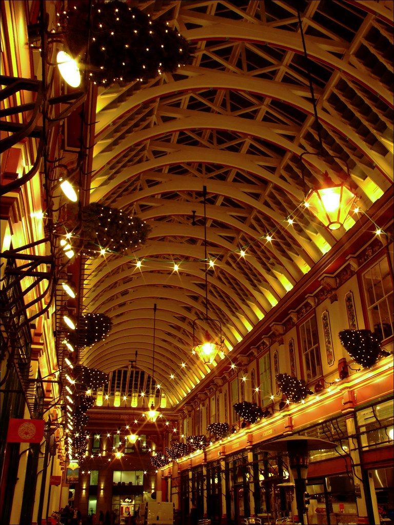 Old world revisiting at Leadenhall Market