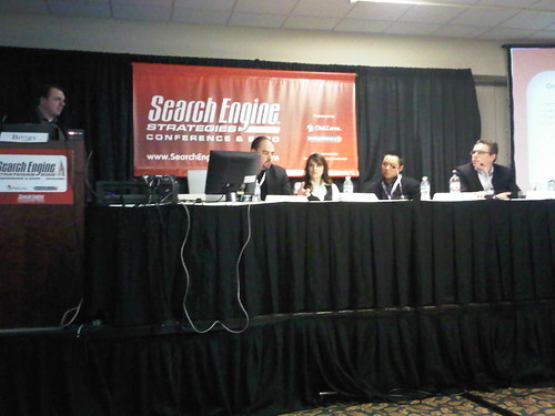 panelists of Meaningful SEO Metrics at SES Chicago 2009