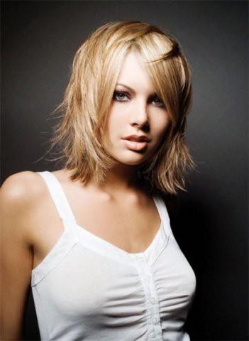 fotos de cabelos médios