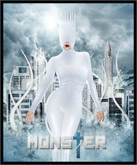 Lady Gaga - Monster (netmen!) Tags: monster lady fame gaga blend the netmen