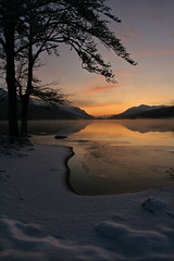 The last light (Team Jenneson) Tags: snow scotland gloaming lochoich invergarry greatglen