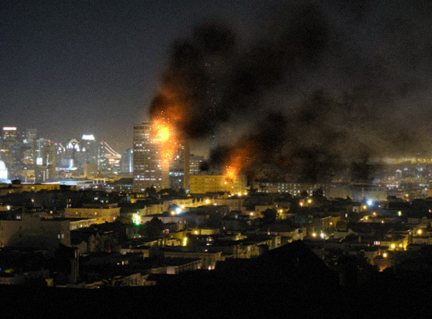 Robert Hodgin City On Fire
