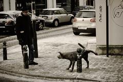 Metal friend (luxx11) Tags: brussels dog delete10 delete9 golf delete5 delete2 deleted7 belgium delete6 delete7 delete8 delete3 delete delete4 asthswasrecordedas7inerror