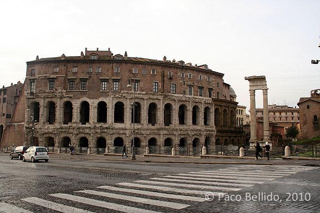 Teatro Marcello. © Paco Bellido, 2010