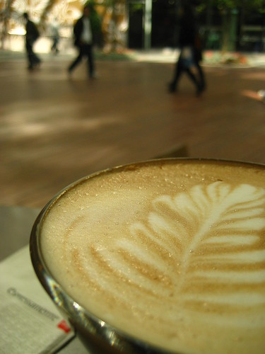 A coffee break at K11, Tsim Sha Tsui