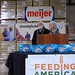 Paula Deen and Helping Hungry Homes, Smithfield Foods' hunger initiative, make a donation to the West Michigan Food Bank with Meijer and UFCW