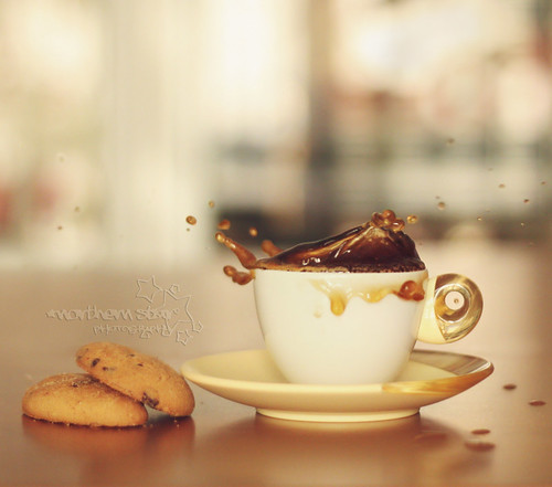 coffe splash. (by *northern star° {one of a kind})