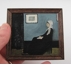 Whistler's Mother in miniature