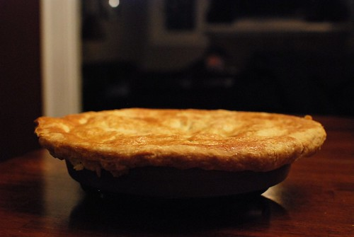 The Pie, with its Artist in the Background