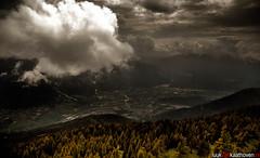 Levico Terme.. (Luuk van Kaathoven) Tags: italy lake clouds forest nikon mount van overview terme levico luuk d80 panarotta luukvankaathovennl trentro kaathoven trentinosouth