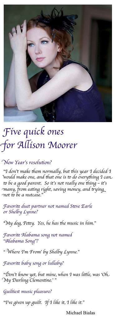 Allison Moorer 5 new