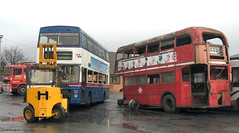 Last known movements (Lady Wulfrun) Tags: november bus carlton routemaster breakers scrap 2009 barnsley metrobus pvs rm13 3049 dismantlers 28thnovember2009 f49xof