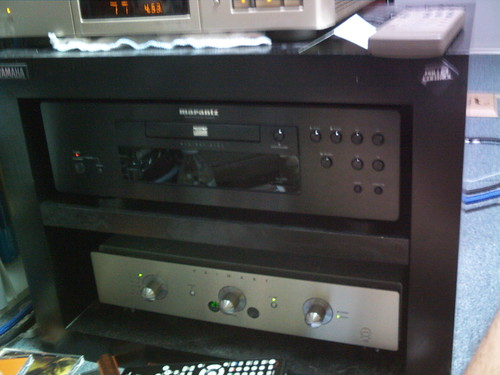 Marantz BD8002 & Primare I30