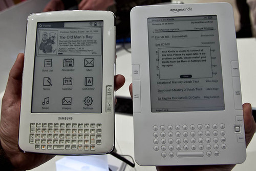 Samsung E61 vs Kindle