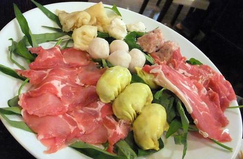 Lamb, Pork, Dumplings, Pork Balls and Wontons
