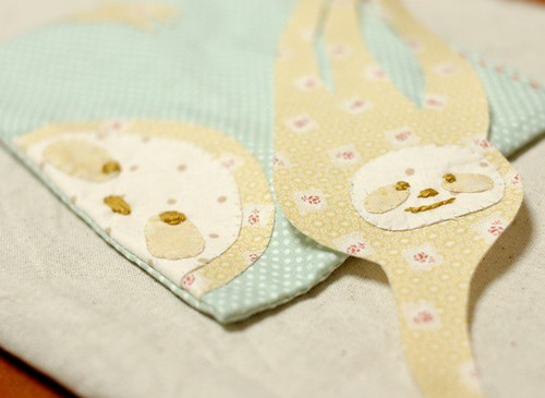 Sloth applique