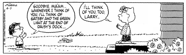 Peanuts Minus Snoopy with Sally and Larry