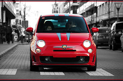 Abarth 500 Ferrari Dealers Edition (Peter-Cornelis.nl | Photography) Tags: canon eos flickr power belgium m1 automotive f1 ferrari explore peter knokke m8 500 m3 edition z1 m2 coupe scuderia supercar ef challenge v8 430 abarth v12 tributo cornelis z8 berlinetta dealers 458 760li 450d canon55250f456is