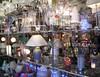 lights (RoseBridger) Tags: light reflection window shop retail yorkshire multicolor multicolour huddersfield lightshop