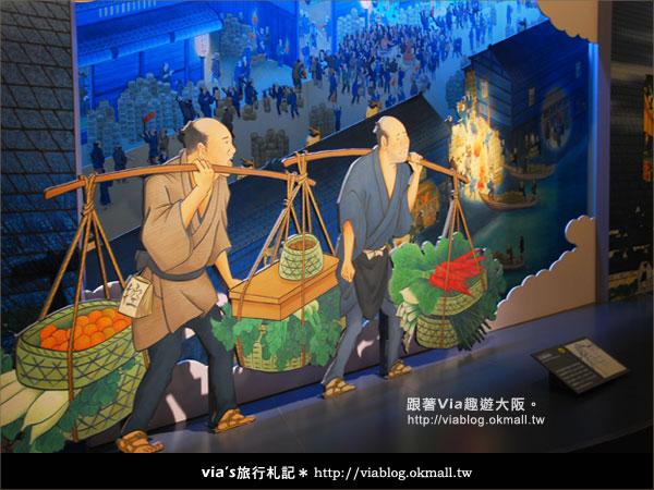 【via關西冬遊記】大阪歷史博物館~探索大阪古城歷史風情13
