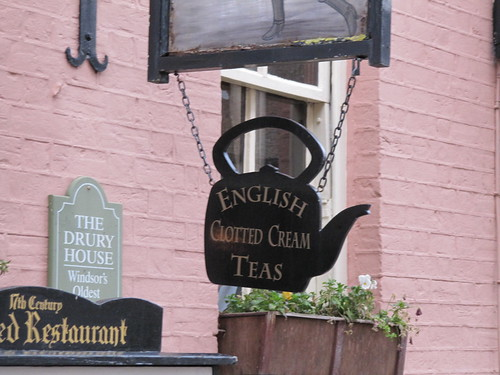 clotted cream sign