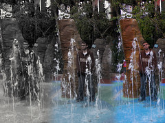 February 21st, 2010 (Canobie Fan) Tags: africa portrait usa water fountain gardens self tampa geotagged florida 21st february 62 busch 2010 project365 flatsurface °f jungala canobiefan