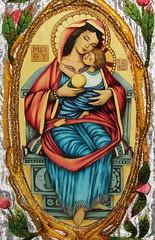 Tierna Madre. (arosadocel) Tags: mary virgin niño virgen maría jesús vergin