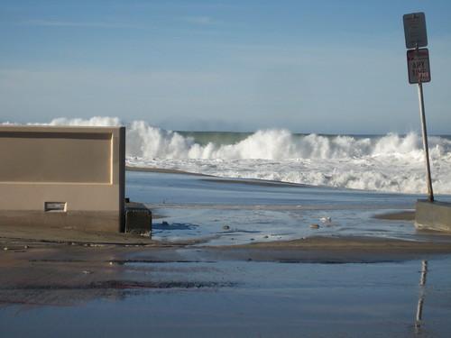 big swell at Zuma