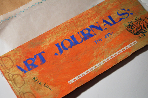 Art Journaling Zine