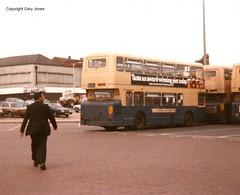6588 SDA 588S (onthebeast) Tags: city travel west bus buses station centre service leyland fleetline midlands wolverhampton wmt