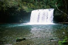 Upper Butte Creek Falls (Gordon Banks) Tags: usa oregon places cascades buttecreek upperbuttecreekfalls