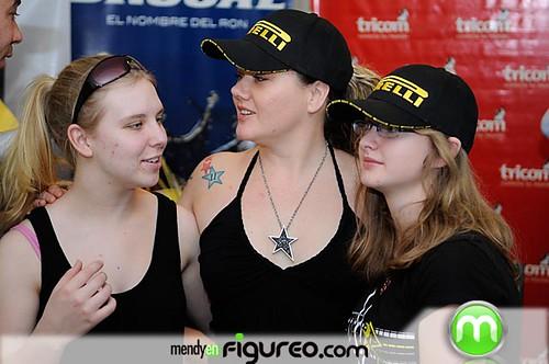Las chicas canadienses que correran en el Autodromo Mobil1