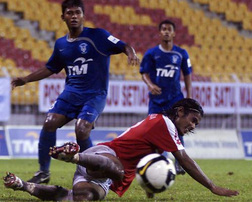 Pos Malaysia (1) vs Harimau Muda (1)