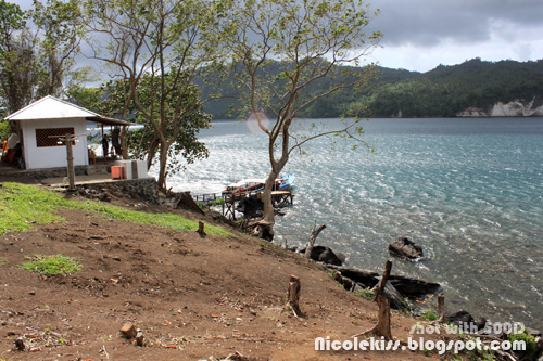 pier and lembeh sea