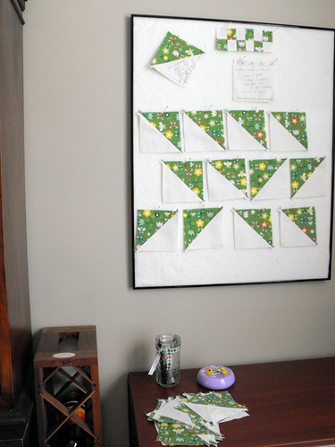 Baby shower quilt project