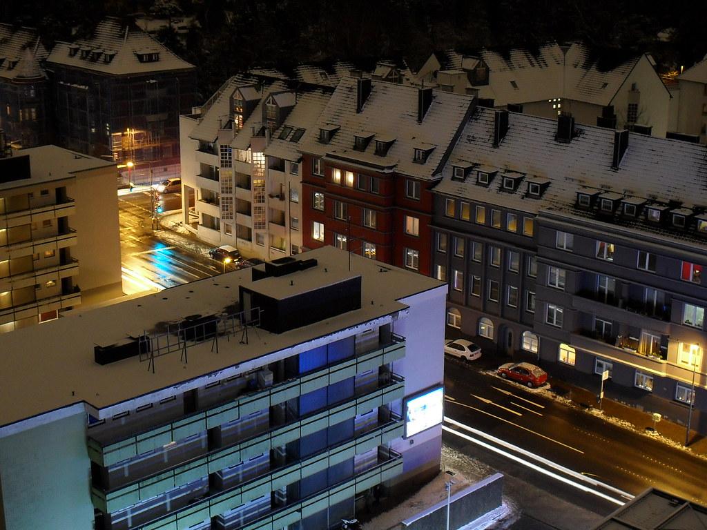 Nacht in Aachen