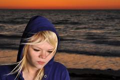 Tori (W. Sierra Hoffman) Tags: ocean sunset orange sun gulfofmexico tampabay florida tori alienbees indianrocks b400 strobist brollybox paulcbuff wsierrahoffman