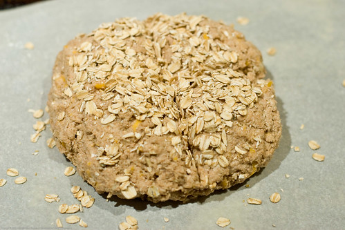 Whole Wheat Cheddar Cheese Kefir Irish Soda Bread