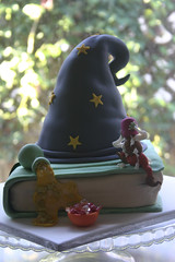 Hocus Pocus....time to FOCUS (Sugar Pot) Tags: hat book wizard chocolate raspberry imp portions